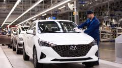 Петербургский завод Hyundai Motor в 4-м квартале на 8% увеличил выпуск автомобилей