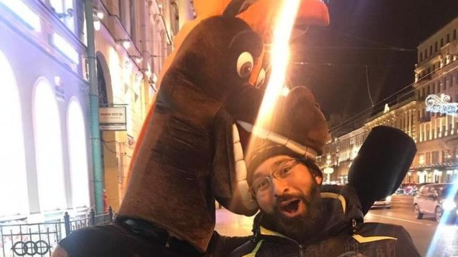 Петербургскийаниматор в костюме коня Юлия пытался обмануть создателя мультфильма