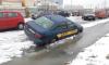 На Пискаревском проспекте автомобиль провалился в канаву с водой