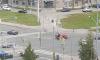 Петербуржцев испугал звук аварии на перекрестке Ленинского проспекта и улицы Доблести