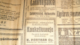 В выборгской квартире нашли газеты 1936 года