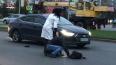 Во Фрунзенском районе автоледи наехала на пешехода ...