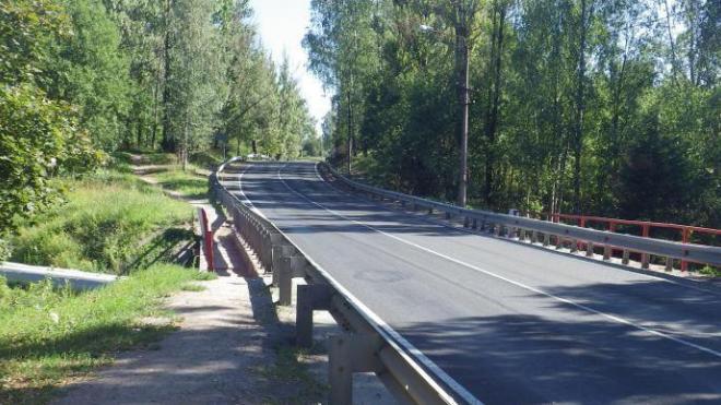 Мост через реку Унтерниска в Светогорске капитально отремонтируют