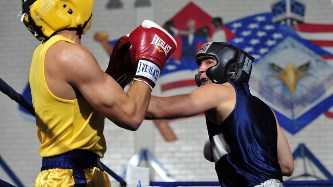 В Петербурге проходит международная матчевая встреча по боксу