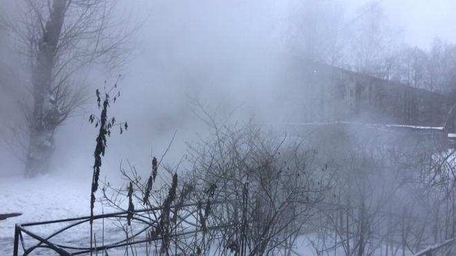 На Энергетиков ограничили отопление в домах из-за прорыва трубы