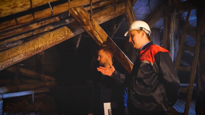 """В Петербурге еще 12 тысяч домов подключат к """"холодному чердаку"""""""