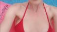 Фото: Оксана Акиньшина показала маленькую грудь на ...