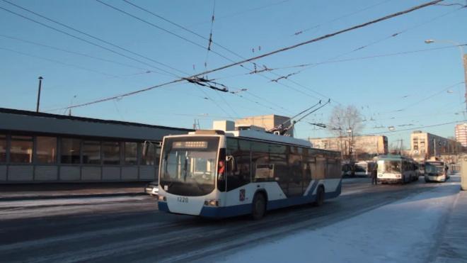 С 15 по 17 декабря закрывается троллейбусное движение по Кондратьевскому проспекту