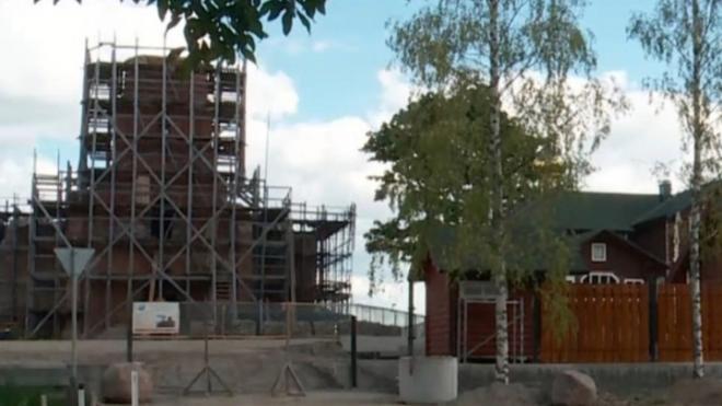 В Кингисеппском районе реставрируют храм Николая Чудотворца