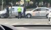 В Выборге произошло ДТП с участием легкового авто и такси