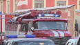 В Ломоносове на Балтийской улице сгорел дощатый сарай