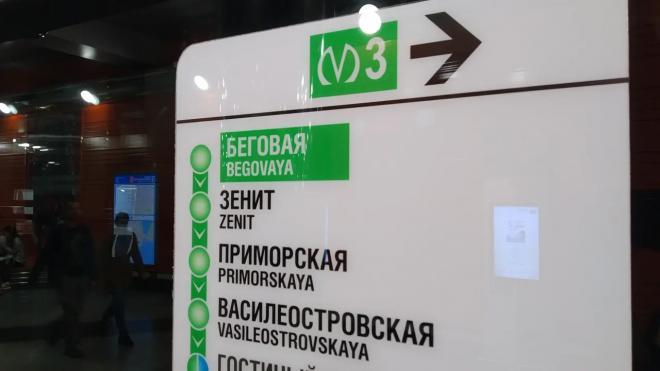 """Станцию метро """"Зенит"""" в Петербурге открыли в тестовом режиме"""