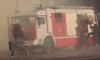 В Белоострове спасатели час тушили пожар в магазине