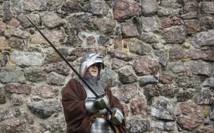 На турнире Святого Олафа заметили рыцаря очень похожего на губернатора Ленобласти