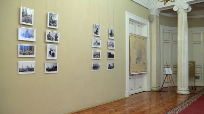 В Мариинском дворце открылась выставка фотографий блокадного Ленинграда