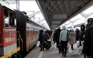 Часть поездов между Петербургом и Москвой отменят из-за ремонта моста в Ленобласти
