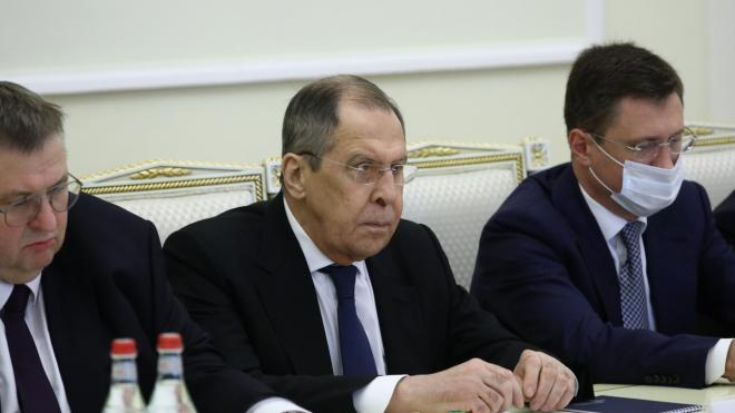Захарова: Лавров провел встречу с Пашиняном