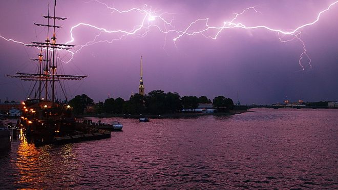На следующей неделе в Петербург придут жара и грозы