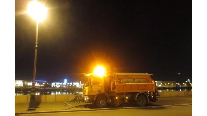 В ночьна 26 октября, на улицы Петербурга выйдут на дежурство 124 спецмашин