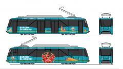 В Петербурге выбрали подрядчика для оформления трамваев и троллейбусов к Евро-2020