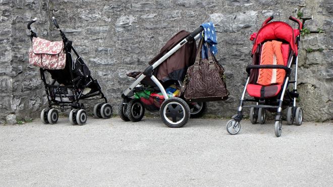 В Петергофе ищут ненормальную женщину, которая украла коляску с ребенком