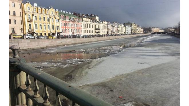 Петербуржцы две недели смогут следить за вскрытием льда на реках и каналах