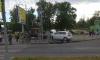 Два такси не поделили перекресток Лабораторного проспекта и улицы Блюхера