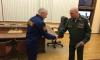 Охранник получил награду за спасение женщины из ледяной воды