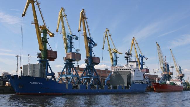 Морской порт Санкт-Петербурга в 2020г. увеличил обработку грузов на 5%