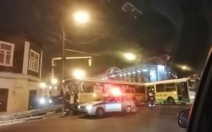 В Ярославле при столкновении двух автобусов погиб человек