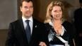 Президент РФ Медведев с супругой проголосовали на ...