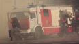 В Колпино ночью тушили 600 кв.м. горящих складов