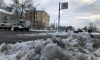 За прошедшую зиму в Петербургеиспользовали 13 тысяч тонн соли