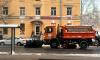 В Петербурге на борьбу с гололедом вышли 6500 дворников