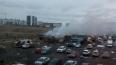 Очевидцы: в Колтушах полностью выгорел пассажирский ...