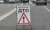На Таллинском шоссе бетономешалка сбила светофор, который придавил пешехода