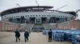 """Рабочие чуть не спалили стадион """"Зенит-Арена"""" на Крестов..."""
