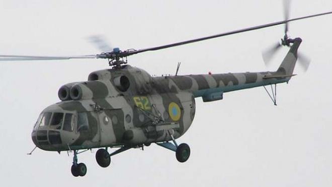 Украина: При крушении военного вертолета погибли 5 человек