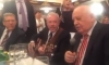 Выпившие Кудрин, Горбачев и Макаревич спели под гитару на юбилее политика