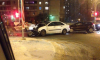 На Афонской улице такси столкнулось с легковушкой