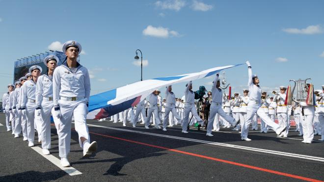 Опубликован список площадок, на которых покажут трансляцию Дня ВМФ