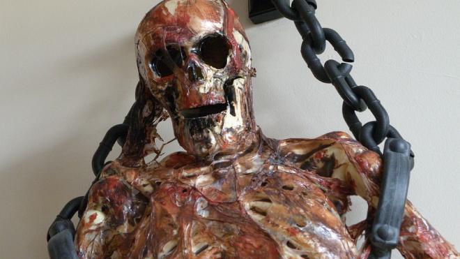 В Тосненском районе обнаружили подвешенную мумию человека