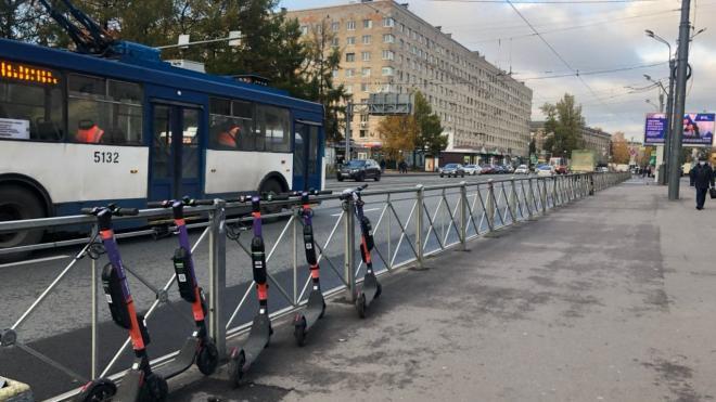 Петербуржцы смогут брать электросамокаты на прокат уже в марте