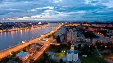 В Петербурге займутся благоустройством набережной реки Охты