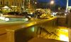 В центре Петербурга жестко столкнулись две иномарки