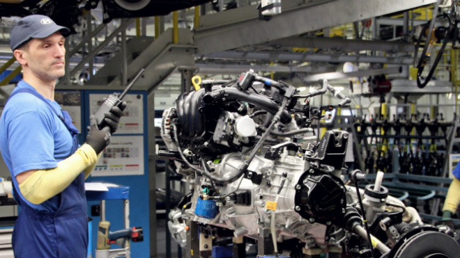 Корейский автопроизводитель потратит на строительство завода в Петербурге около 13 млрд рублей