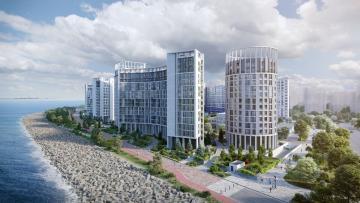 Жители Васильевского острова выступают против строительства жилого комплекса на берегу Невской Губы