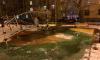 """На Наличной потоп из """"бесхозной трубы"""" уничтожает новую детскую площадку"""