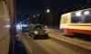 На улице Дыбенко из-за ДТП образовалась километровая пробка
