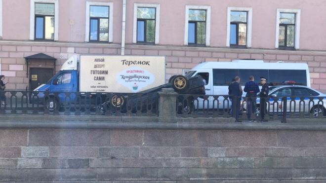 В Петербурге произошло несколько ДТП с перевертышами